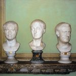 Roma, Museo Chiaramonti, technique mixte sur toile, 97x130cm, 2002