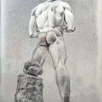 Foro italico|2003, mine de plomb sur papier, 65x50cm
