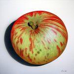 La grosse pomme, acrylique sur toile, 100x100cm, 2008