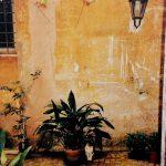 Via del vantaggio 7, encre et acrylique sur toile, 195x130cm, 2000, Ville de Lille