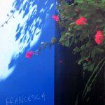 Francesca e Paolo, acrylique sur toile, 100x65cm, 2018